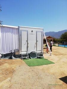 Arriendo de baños químicos para eventos