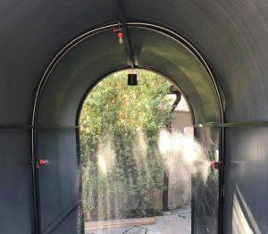Arriendo de túnel sanitizador en Santiago